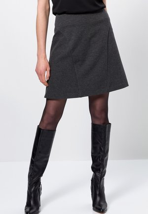 A-line skirt - anthracite-m