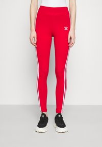 adidas Originals - Leggings - Trousers - scarlet - 0
