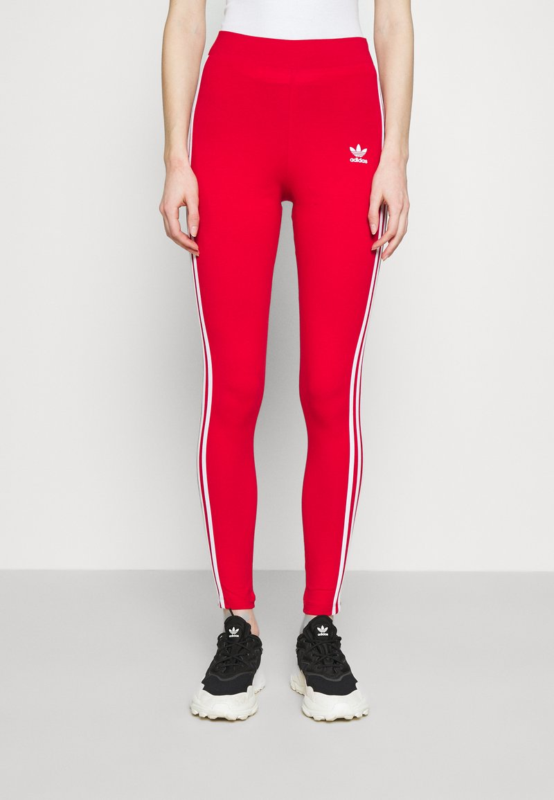 adidas Originals - Leggings - Trousers - scarlet