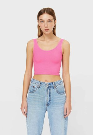 CROPPED - Toppe - neon pink