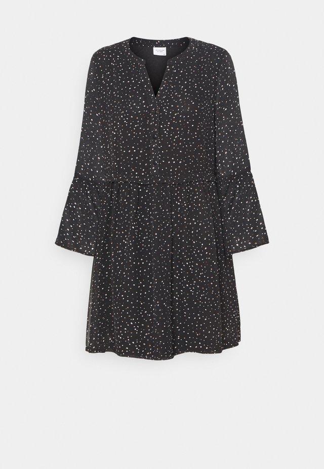 JDYKYLIE SHORT DRESS - Freizeitkleid - black/pastel