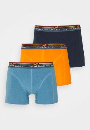 JACMOUNTAIN TRUNKS 3 PACK - Boxerky - navy blazer/blue heaven/persimmon