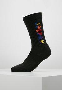 Jordan - LEGACY CREW RIVALS - Skarpety sportowe - black/multi-color - 0