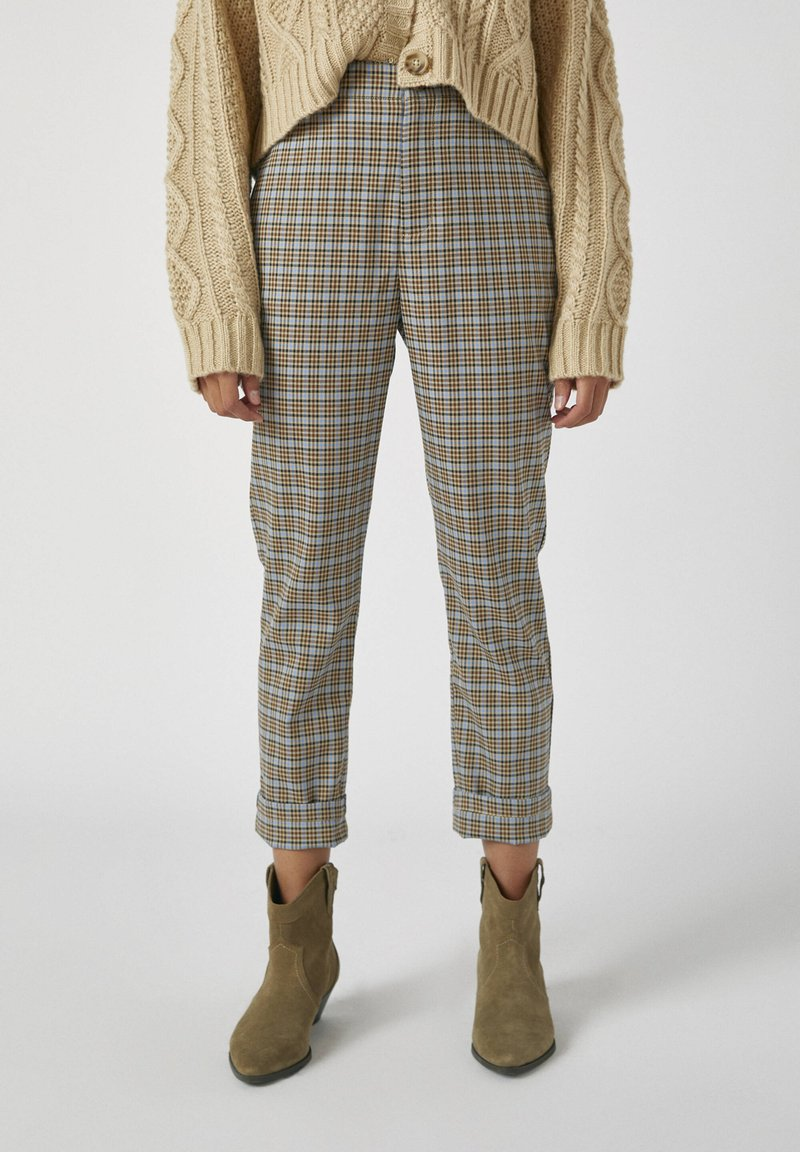 PULL&BEAR - Trousers - brown