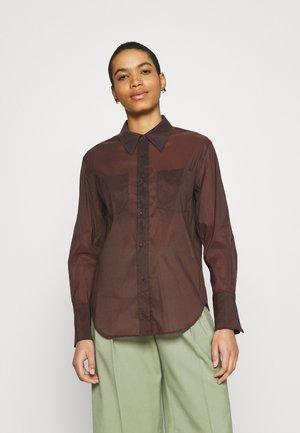 SHIRT - Košile - brown