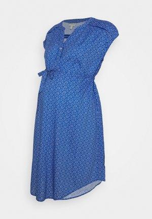 MATERNITY SUMMER DRESS - Trikoomekko - blue