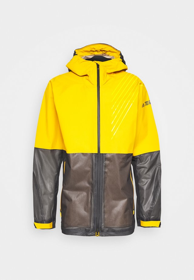 ZUPAHIKE - Hardshell jacket - legend gold/black