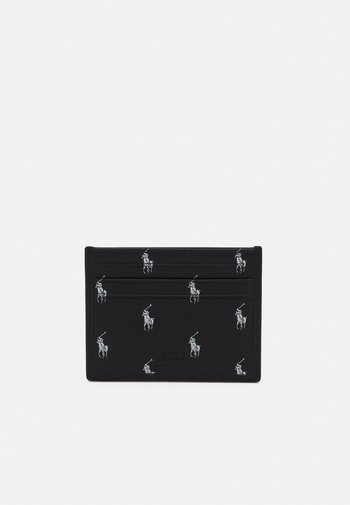 CARD CASE SMALL UNISEX - Wallet - black/white