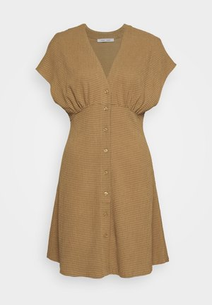 VALERIE SHORT DRESS - Skjortekjole - dijon