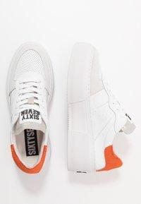 Sixtyseven - Sneakers basse - white/orange - 3