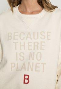 Ecoalf - LLANESALF BECAUSE WOMAN - Sweatshirt - light beige - 4