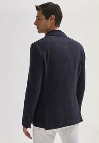 Massimo Dutti - SLIM-FIT - Blazer jacket - blue - 1