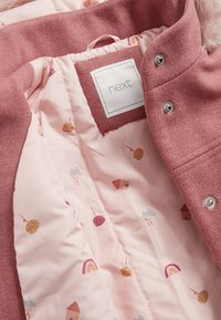 Next - Winter coat - pink - 2