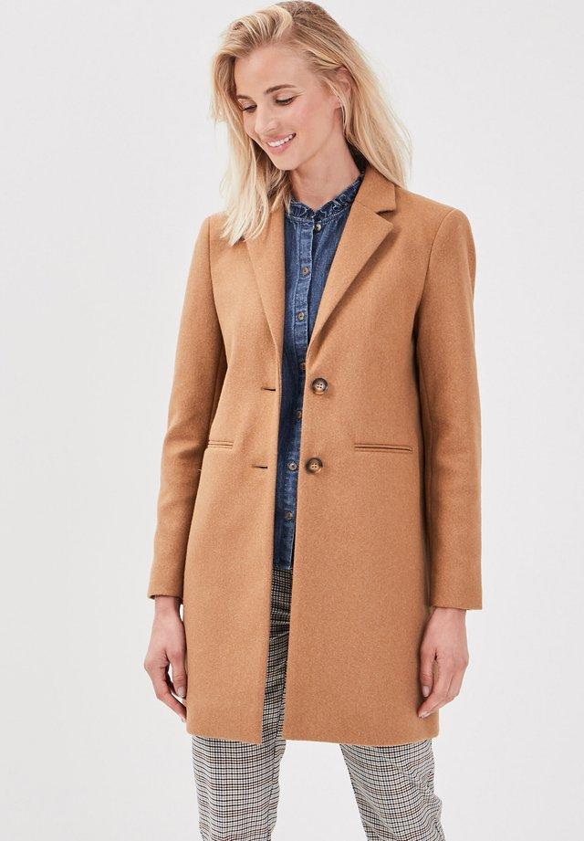 Abrigo corto - marron clair