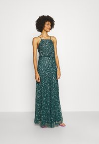 Maya Deluxe - ALL OVER EMBELLISHED CAMI DRESS - Occasion wear - deep teal - 1