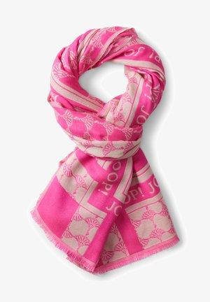 Scarf - pink/beige