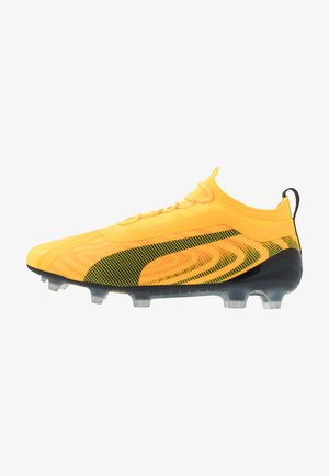 ONE 20.1 FG/AG - Botas de fútbol con tacos - ultra yellow/black/orange alert