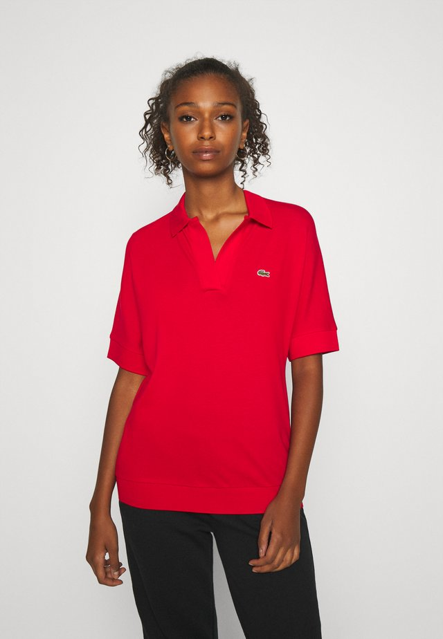 T-shirt - bas - red
