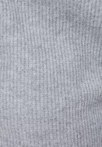 Bershka - MIT WEITEM BEIN UND KORDEL - Kalhoty - light grey - 5