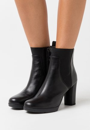 ANYLLA - Bottines à talons hauts - black