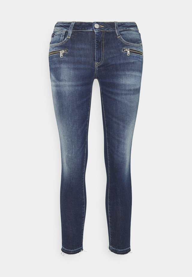 Jeans Skinny Fit - green cast