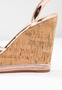 Office - HONCHO - Sandály na vysokém podpatku - rose gold - 2