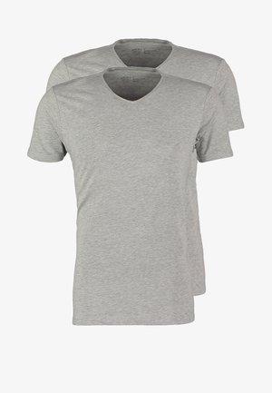 2 PACK - T-shirt basic - grey