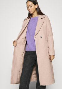 ONLY - ONLGINA WRAP COAT  - Classic coat - humus - 3