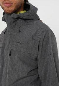 Vaude - ROSEMOOR JACKET - Waterproof jacket - iron - 6