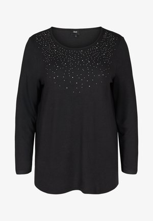 ELUCCA - Long sleeved top - black