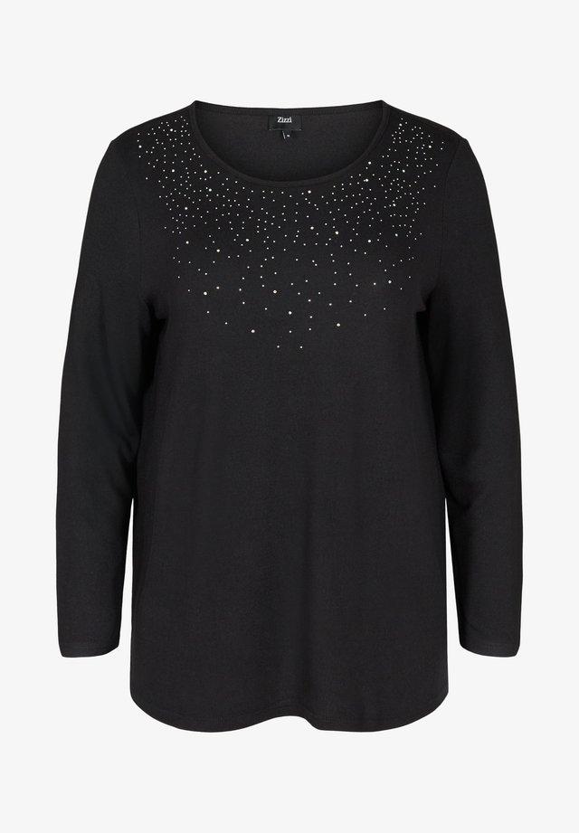 ELUCCA - Maglietta a manica lunga - black