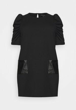 CURVE POCKET  - Jerseykjole - black