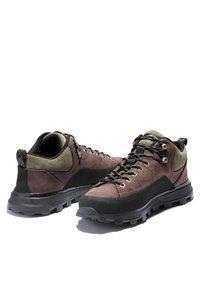 Timberland - TREELINE LOW - Chaussures à lacets - dark brown nubuck - 3