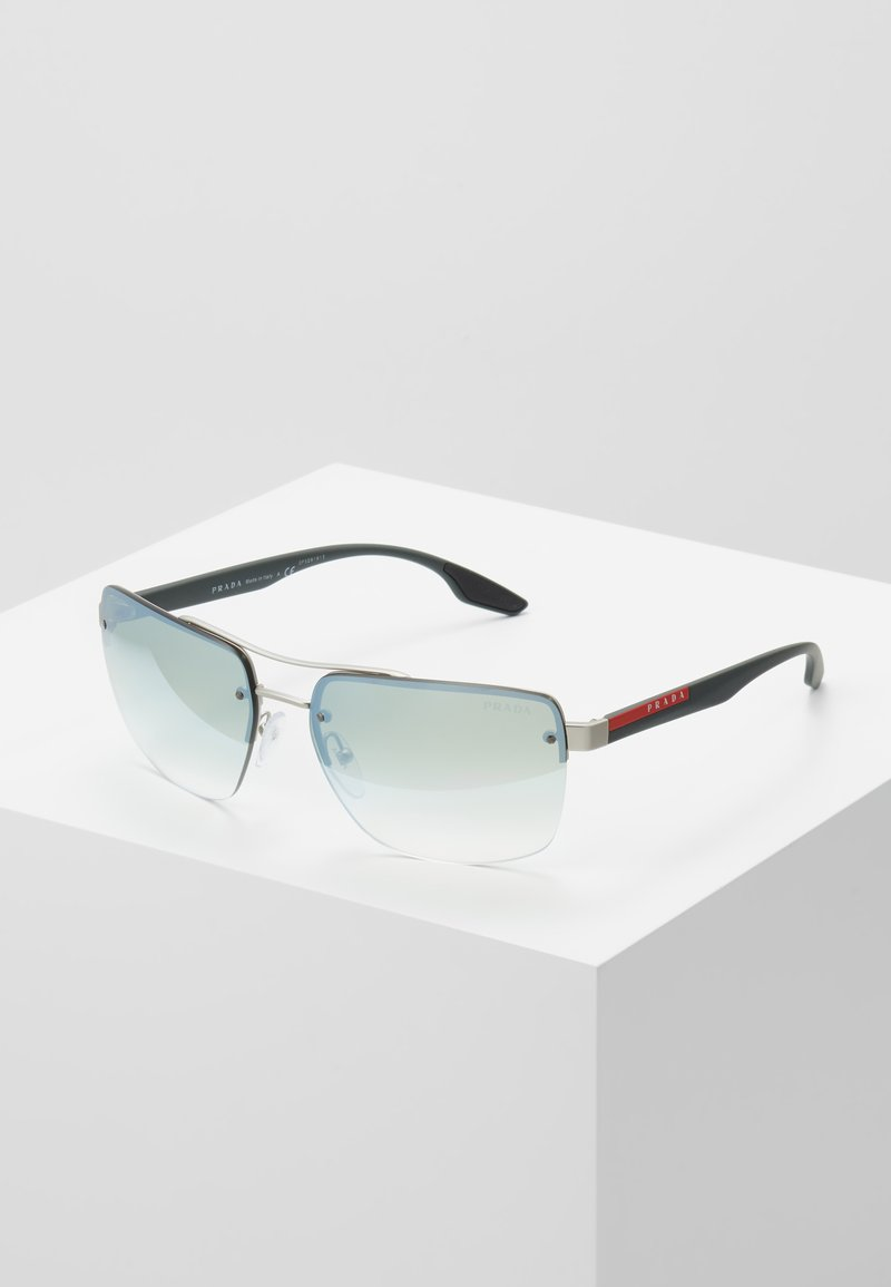 Prada Linea Rossa - Sunglasses - silver-coloured