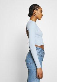 Monki - LINN - Long sleeved top - blue light - 4