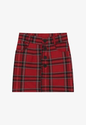 GIRLS - Mini skirt - granatrot