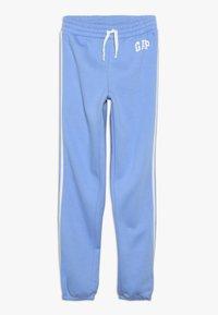 GAP - GIRL LOGO JOGGER - Teplákové kalhoty - moore blue - 0