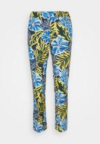 OKRA - Pantalones - blau