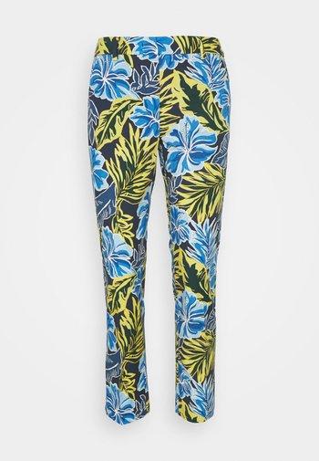 OKRA - Trousers - blau