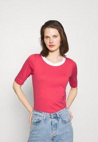 edc by Esprit - Basic T-shirt - pink - 0