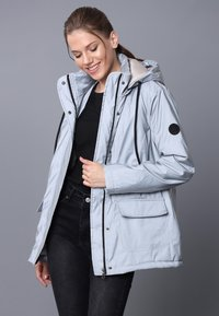 Felix Hardy - Winter jacket - grey reflector - 3