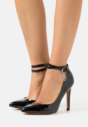 ONLCHLOE CHAIN - Klassiske pumps - black