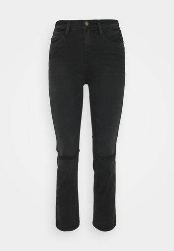 LE HIGH STRAIGHT - Straight leg jeans - maverick rips