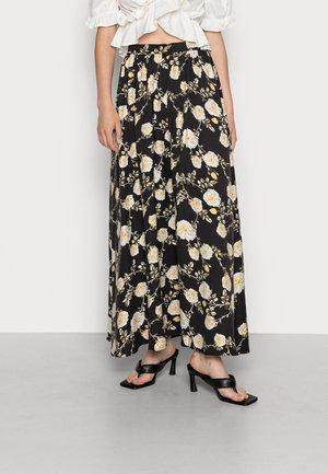 VIROSEMARY ANKLE  - Maxi skirt - black
