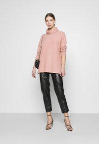 New Look - BELLA LONGLINE - Jumper - mid pink - 1