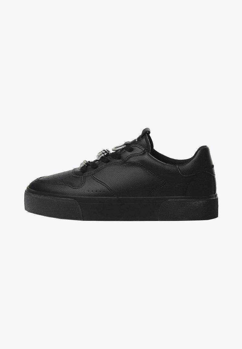 Bershka - Baskets basses - black