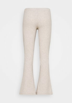 ONLNELLA FLARED PANT - Trousers - pumice stone melange