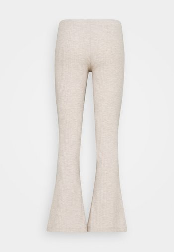 ONLNELLA FLARED PANT - Trousers - pumice stone melange