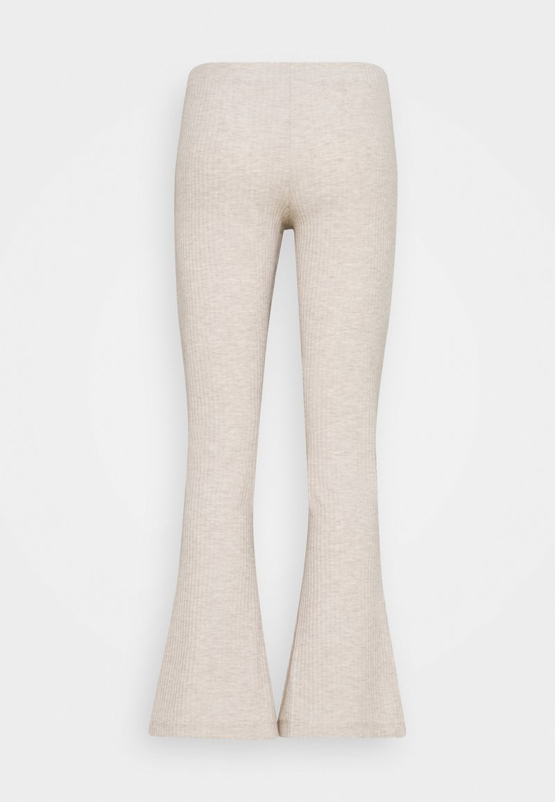ONLY Petite - ONLNELLA FLARED PANT - Trousers - pumice stone melange