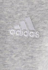 adidas Performance - Zip-up sweatshirt - medium grey heather/white - 2